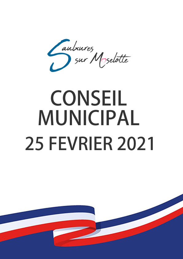Conseil Municipal du 25 février 2021