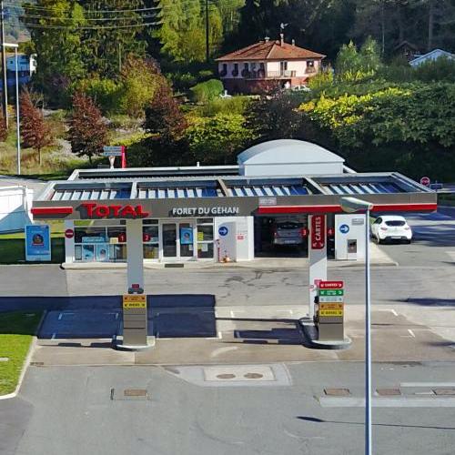 Station Total forêt duGehan