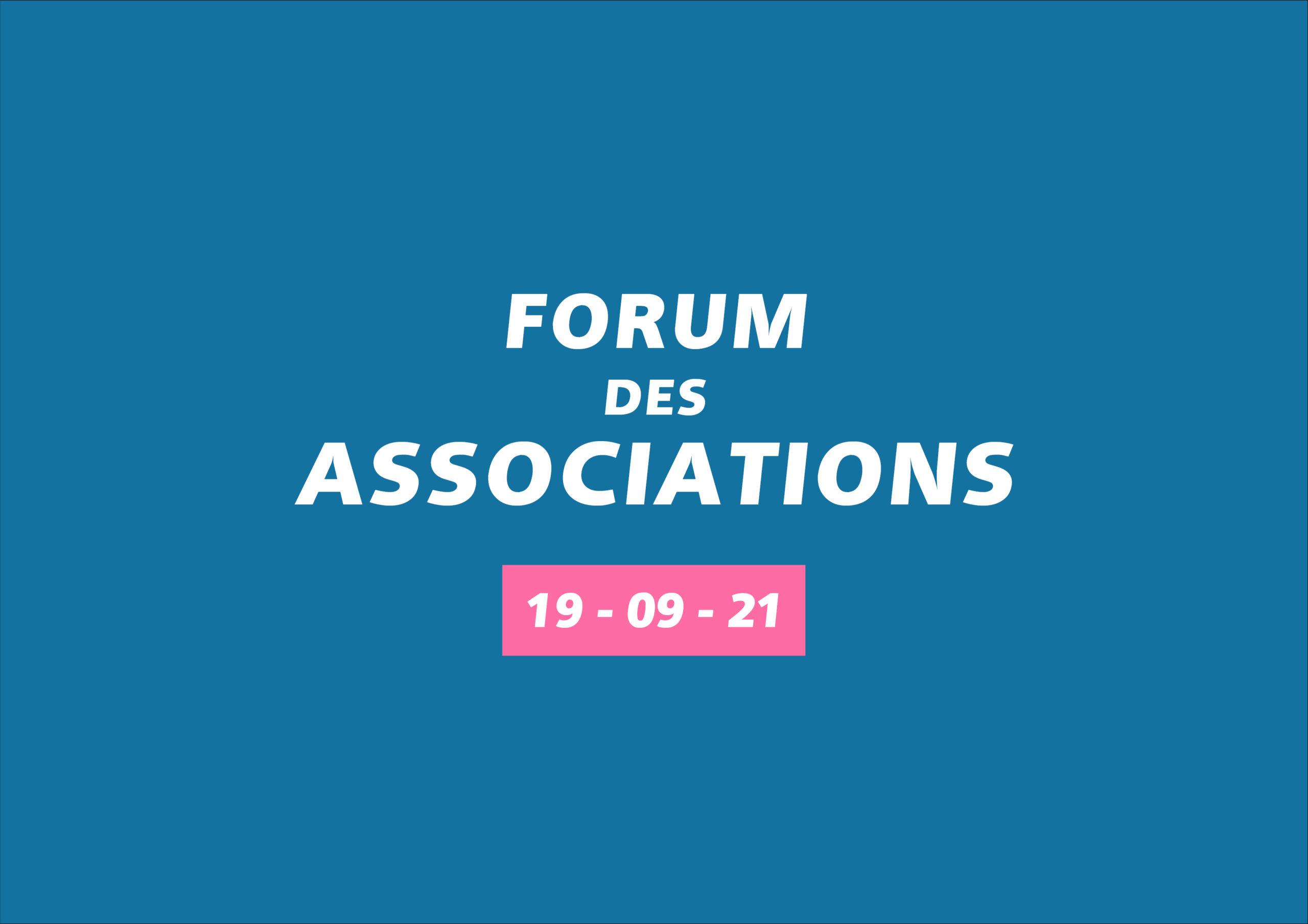 Inscriptions au Forum des Associations