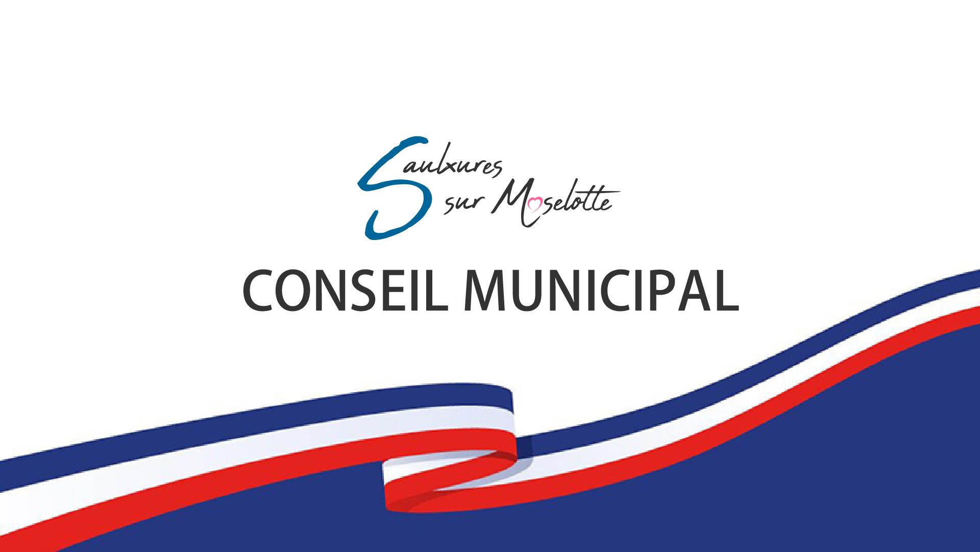Conseil Municipal — jeudi 16 septembre