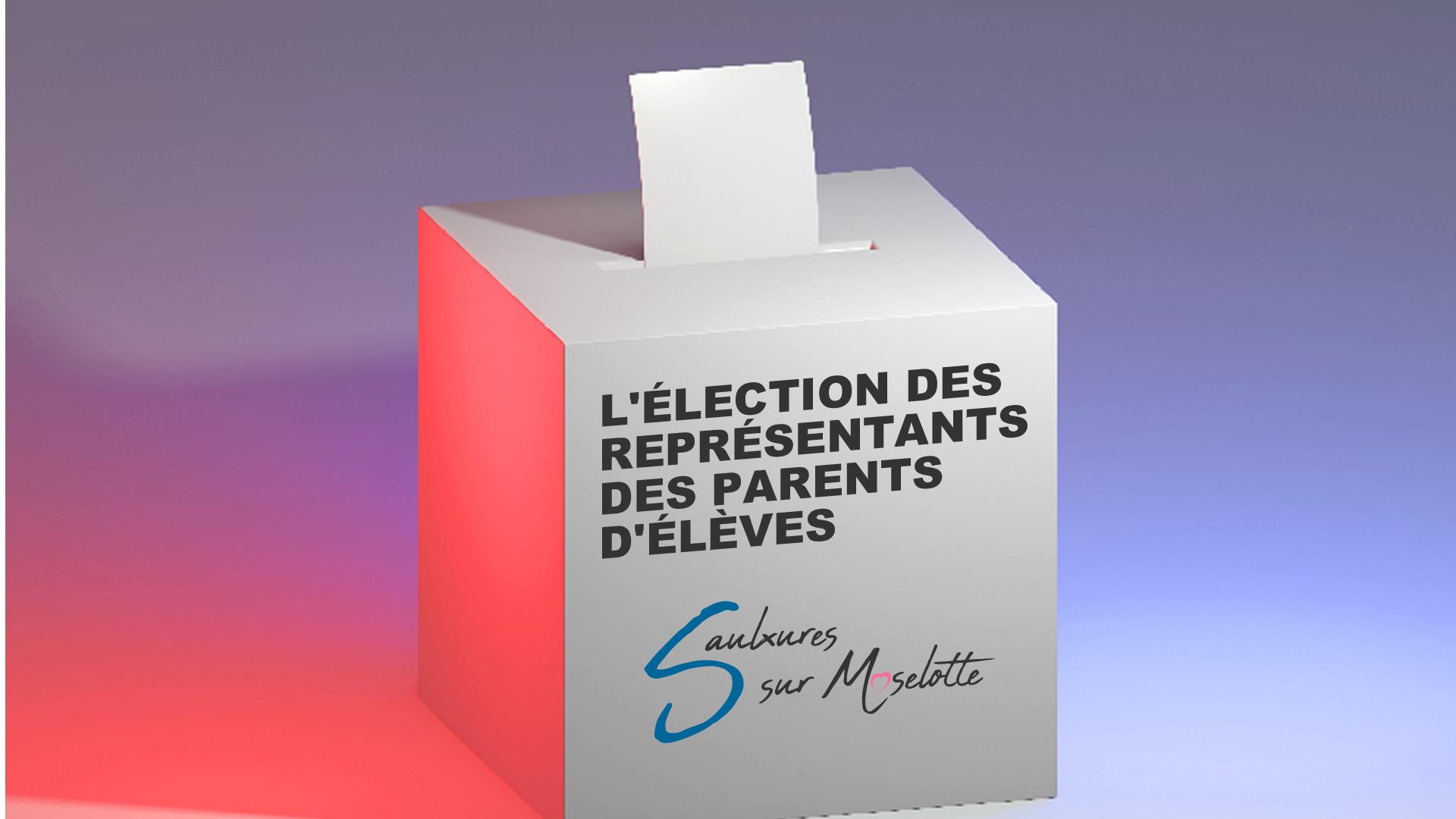 Élection des représentants des parents d'élèves